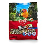 Kaytee Fiesta Gourmet Variety Bird Food For Conures,  4-1/2-Pound Bag