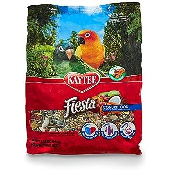 Kaytee Fiesta Gourmet Variety Bird Food For Conures,4-1/2-Pound Bag