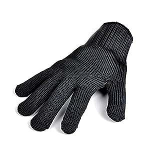 Cool-Touch calor & Resistente al Fuego Guantes de Horno fabricado con Dupont Nomex–Resistente a 350°C, dedos