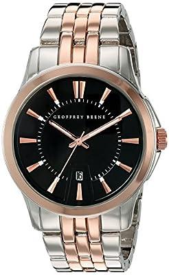 Geoffrey Beene Men's GB8048GU Analog Display Japanese Quartz Grey Watch