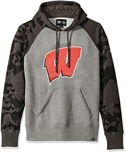 ncaa wisconsin badgers tundra pullover