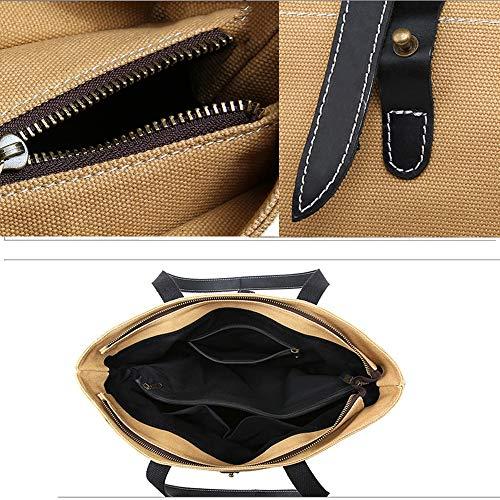 Shopping Adatto A Zaino Donna Gray Borsetta Lo lavoro ayng Vintage 39cm Per Wy Tracolla 37 Casual Borsa black 11 EzqY7Bw5