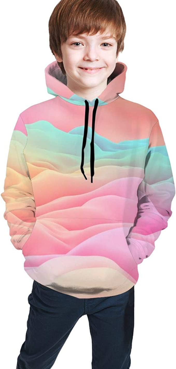 HD Picture of Color Clouds Hoodie Sweater Boy Girls Fashion ...