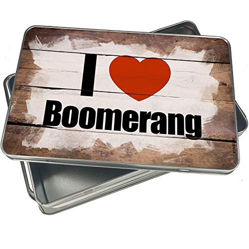 Love Boomerang (NEONBLOND Cookie Box I Love Boomerang Christmas Metal Container)