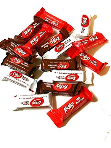 KitKat Mini Valentines Chocolate Assortment Mix Bulk RED, WHITE and Black - 5 LB