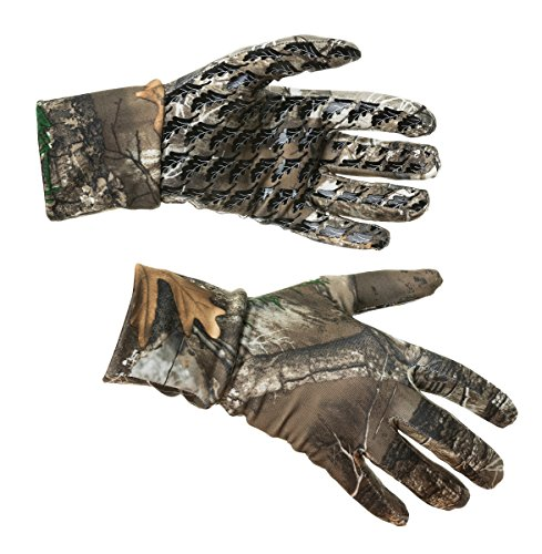 DSG Outerwear Women's D-Tech Liner Glove with Realtree Edge Camo (Small)