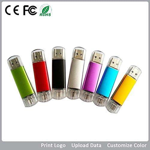 senlin USB Flash Drive 2.0 logotipo personalizado plástico 16 GB Memory Stick Fotografía Regalo (Pack de 10): Amazon.es: Informática