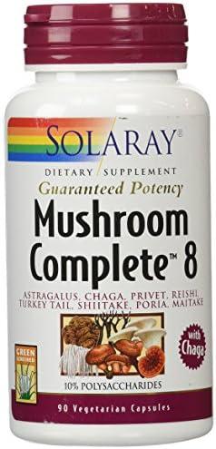 Solaray Mushroom Complete 8 Supplement