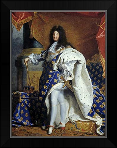 CANVAS ON DEMAND King Louis XIV of