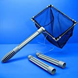 ISTA 8'' Stainless Floating Fishing net 20cm - aquarium Cleaning fish plant tank