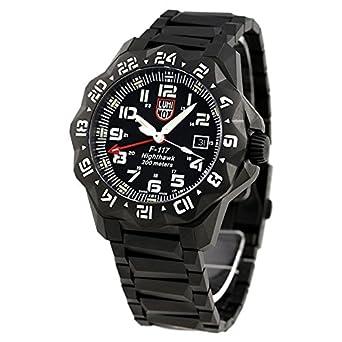 3cddfe4ad7 [ルミノックス]LUMINOX 腕時計 F-117 ナイトホーク 6420シリーズ ブラック 6422 メンズ [