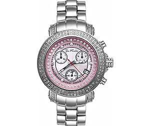 Joe Rodeo Rio Womens Diamond Watch 1.25ct Pink MOP