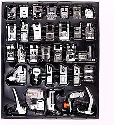 3T6B 32 Piezas Kit Máquina de Coser Prensatelas Universal ...