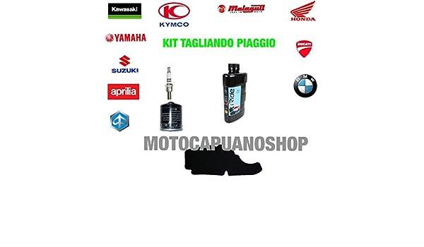 Kit Tagliando aceite Agip Eni 5 W40 i-Ride Piaggio Liberty sport 125 2006: Amazon.es: Coche y moto