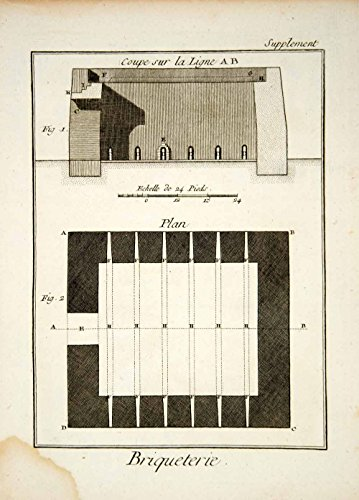 1779-copper-engraving-architecture-drawing-brickyard-furnace-oven-diderot-ddr3-original-copper-engra
