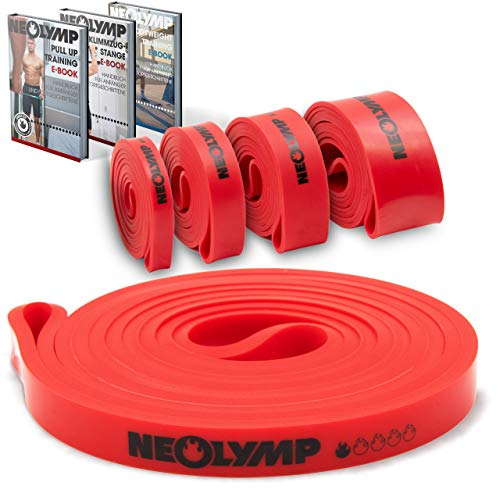 NEOLYMP Premium Pull Up Fitness Bands   Perfect voor spieropbouw en Crossfit Freeletics Calisthenics   Fitness Band Pull…