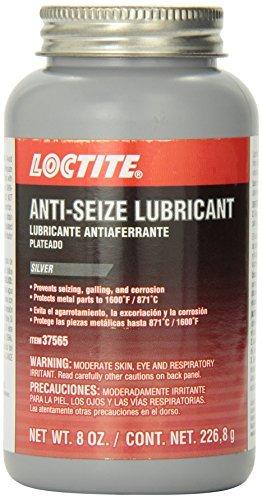 Loctite 37565 Silver Anti-Seize Lubricant - 8 oz. by - Anti Silver Lubricant Seize