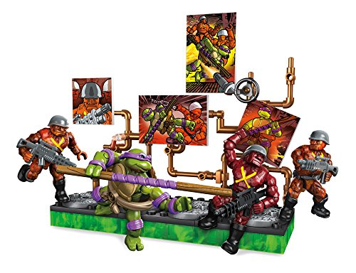 Mega Construx Teenage Mutant Ninja Turtles Donatello Battle Pack