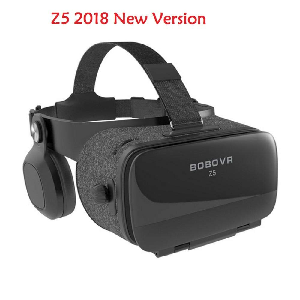 BOBOVR Z5 New Version Virtual Reality 3D Glasses for iPhone Samsung Xiaomi Smartphones FOV 120 Degrees VR Stereo Box (with Global Remote) bobovr x5