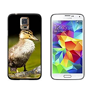 Baby Duck - Duckling - Snap On Hard Protective Case for Samsung Galaxy S5 - Black