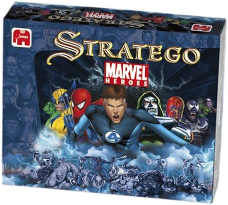 Winning Moves – Juego de Tablero – Stratego Marvel: Amazon.es ...