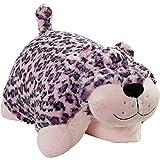 Pillow Pets Signature Stuffed Animal Plush Toy 18'', Lulu Leopard