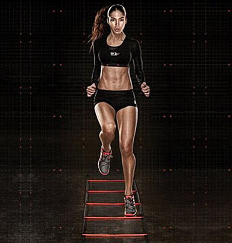 The Agility Ladder - Speed Training, Step Ladder - Football Cadence Training