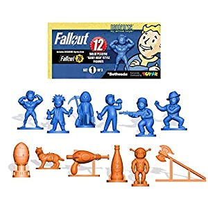 Toynk Fallout LookSee Box with Nanoforce Figures|Cable Guy|Nuka Cola by Jones Soda