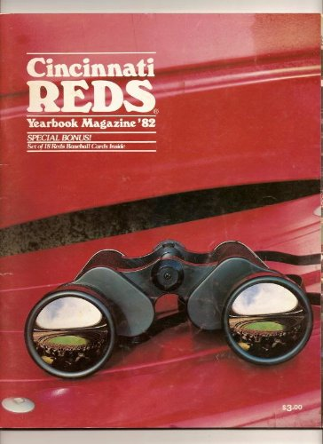 1982 cincinnati reds official yearbook -