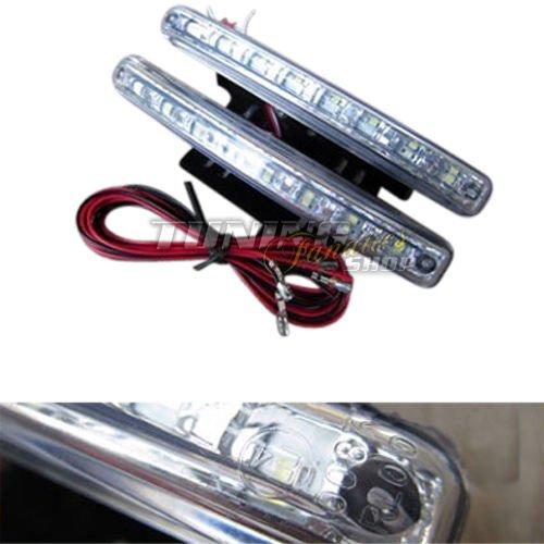 2x LED SMD 16 Tagfahrleuchten Tagfahrlicht E4 E-Pr/üfzeichen R87 RL Modul WEISS