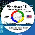 Windows 10 - 32/64 Bit DVD SP1, Suppo...