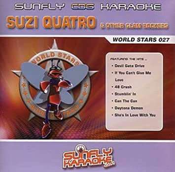 Suzi Quatro & Other Glam Rockers Sunfly Karaoke World Stars