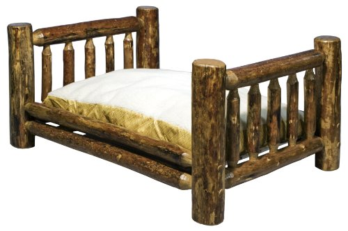 Log Furniture – Pet Bed
