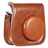 Andoer Camera Case Artificial Leather Single Shoulder Bag Cover for Fuji Fujifilm Instax Mini 8/8s/8+/9