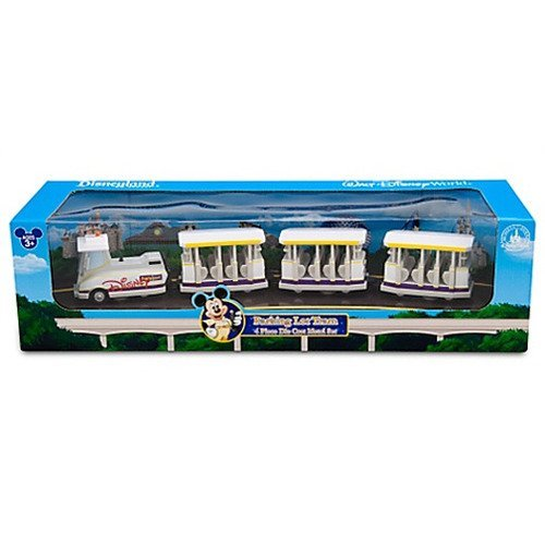 Disney Parking Lot Tram 4 Piece Die Cast Metal - Parks World Four