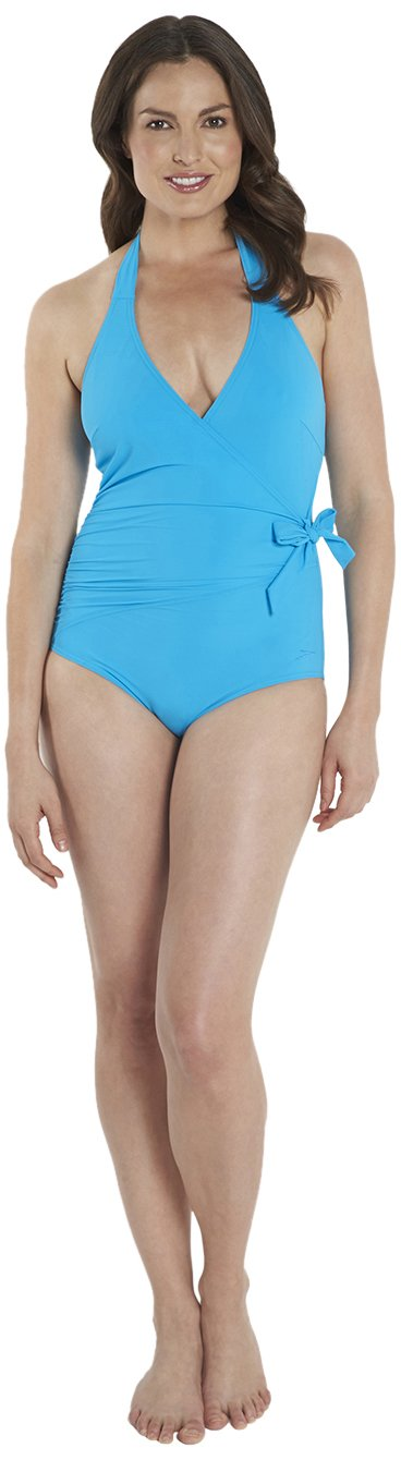 Speedo Women's Sculpture Simply Glow 1 Piece Swimsuit
