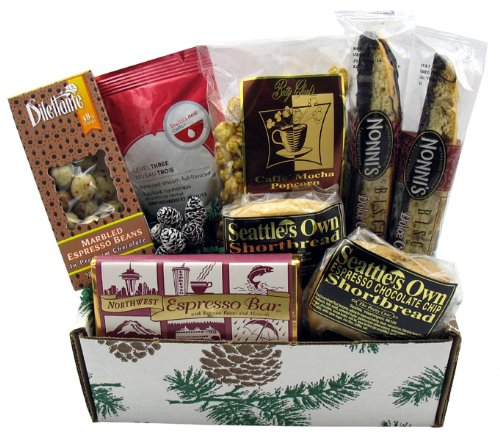 Holiday Coffee Gift Box (Wine Gift Baskets Seattle)