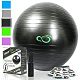 Exercise Ball -Professional Grade Exercise Equipment Anti Burst - Best Reviews Guide