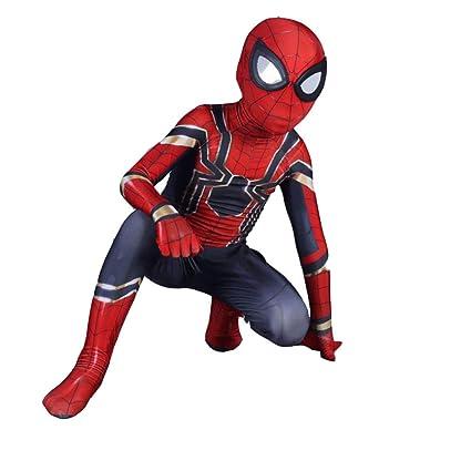 DSFGHE Halloween Niños Traje De Spider-Man Hero Héroe Hombre ...