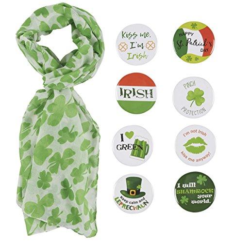 St. Patrick's Day Green Shamrock...