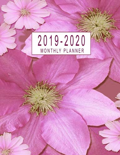 2019-2020 Monthly Planner: 2019-2020 Monthly Calendar At A Glance | 24 Months Calendar 2019-2020 Planner Federal Holidays Marked |  2019-2020 Academic ... Calendar Schedule Organizer) (Volume 1) ()
