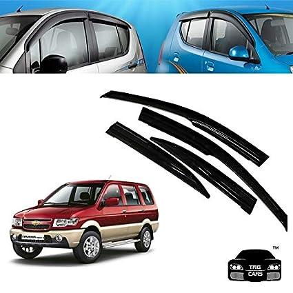 Trigcars Chevrolet Tavera Car Door Visor Car Bluetooth Amazonin