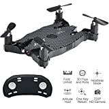 JJRC H49WH Drone, WIFI FPV 720P Camera ,4CH 6Axis Headless Mode,Ultra thin RC Quadcopter RC Helicopter Auto Air Pressure High