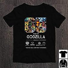 3f47b569 65 years of Godzilla 1954 2019 thank you for the memories T-shirts  Sweatshirts.