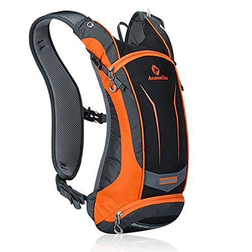 Paladineer 8L Outdoor Cycling Backpack Running Backpack for Biking Running Riding Climbing Hiking Orange