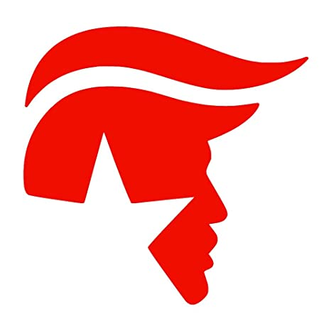Trump Dog Pee On Trump Car Vinyl Sticker Decal Bumper Sticker for Auto Cars Trucks Windshield Custom Walls Windows Ipad Macbook Laptop Home and More Black