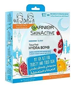 Garnier My SOS Kit for Thirsty & Tired Skin - 4 + 3 masks