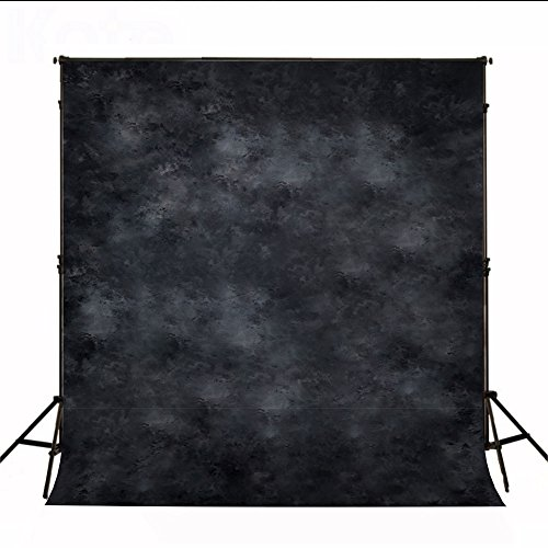 Kate 10 x 20ft/3 x 6m Black Photo Background Cloth Photography Props Printed Backdrops for Photographers Photo Backdrop by Kate