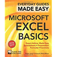 Microsoft Excel Basics (2018 Edition): Expert Advice, Made Easy (Everyday Guides Made Easy)
