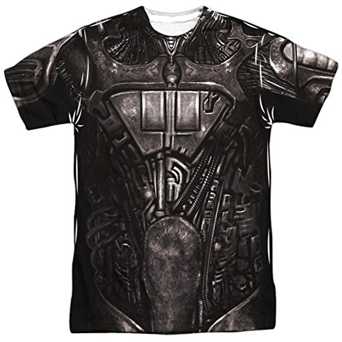 Star Trek- Borg Costume Tee T-Shirt Size XL - Borg Costume Star Trek